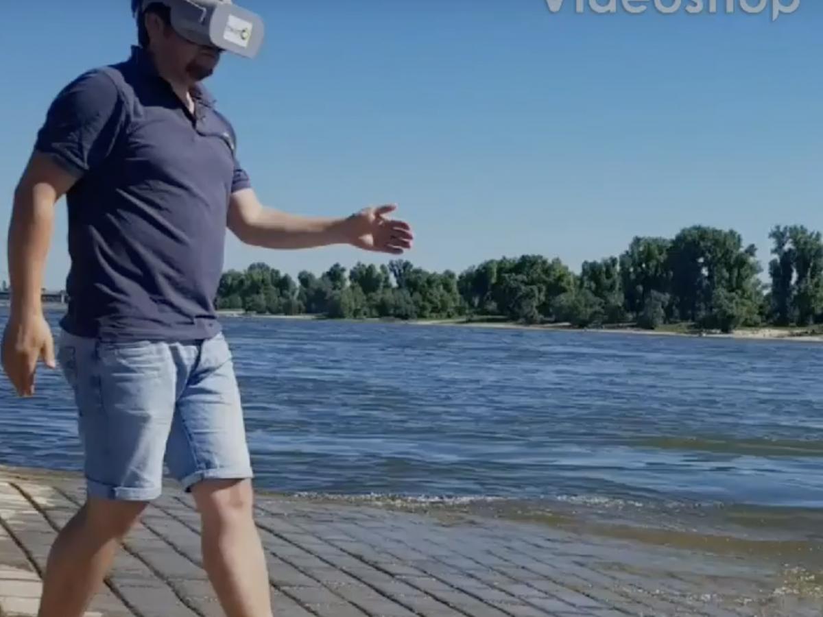 Die neue Oculus Go...