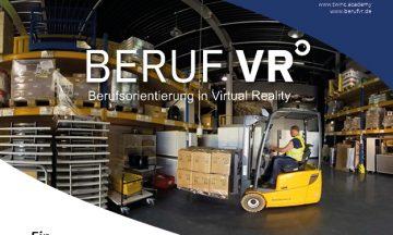 Beruf VR - Berufsorientierung in Virtual Reality