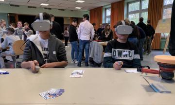 Berufe digital – Virtual Reality an der katholischen Hauptschule Husen
